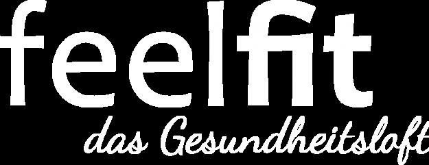 feelfit Logo weiß